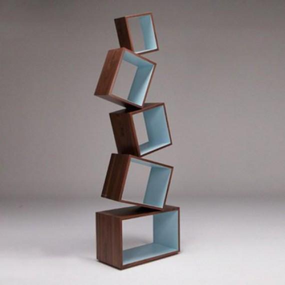 Bibliothèque en équilibre