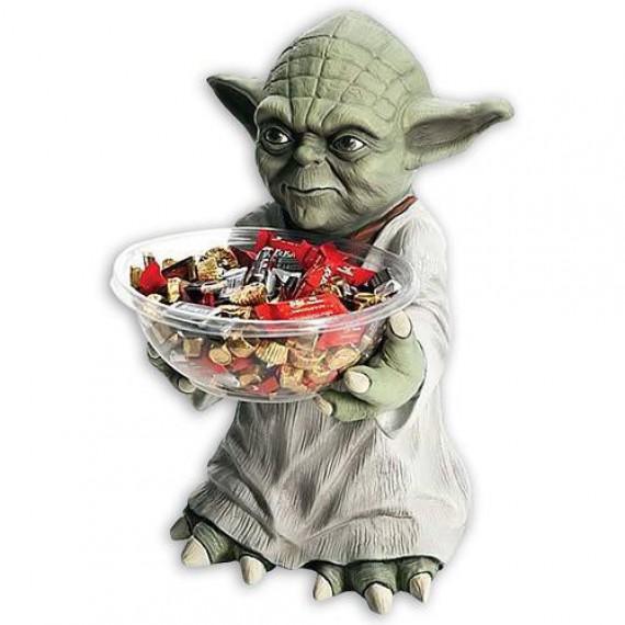 Maître Yoda porte bonbon