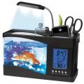 Aquarium USB de bureau (et station météo)