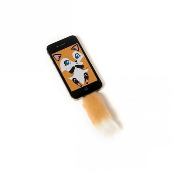 Accessoire Queue de Renard pour iPhone