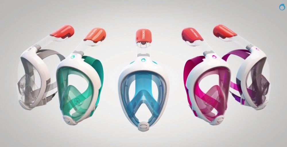 sensation de confort 60% de réduction différents types de Masque de plongée Easybreath de Decathlon | CommentSeRuiner