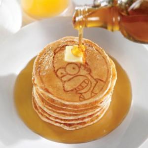 Poêle à pancakes Homer Simpsons
