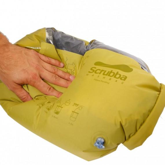 Machine à laver de poche - Sac Scrubba