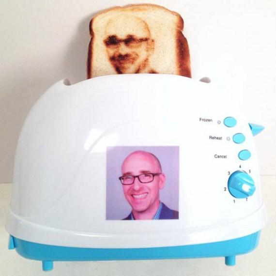 Toaster selfie