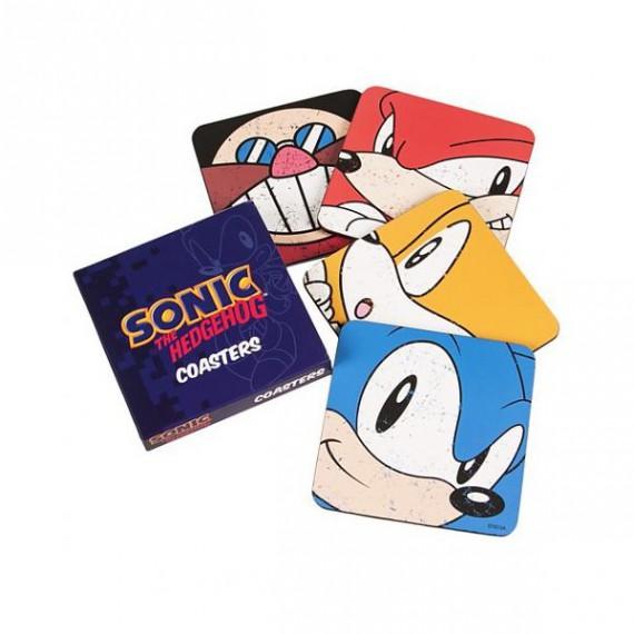 Les sous-verres Sonic the Hedgehog