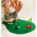 Mini golf aux toilettes