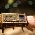 Le brassard-clavier Steampunk