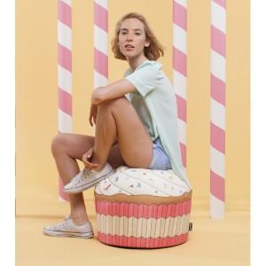Pouf Cupcake géant Woouf