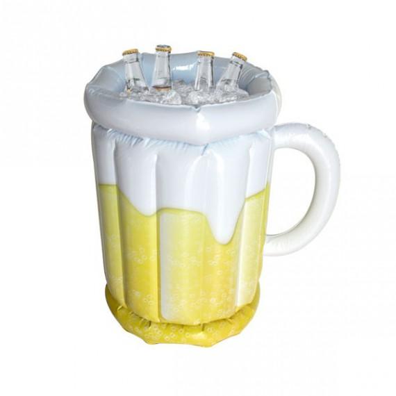 Chope bière géante gonflable