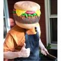 Le masque cheeseburger