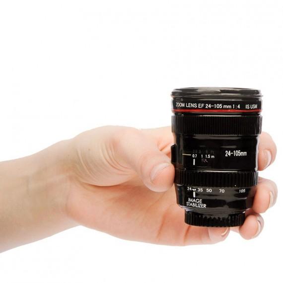 Les verres à shooters objectif appareil photo