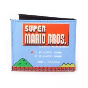 Portefeuille Nintendo Super Mario Bros Rétro
