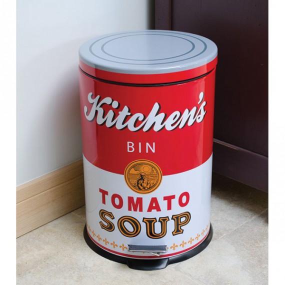 Poubelle de cuisine Tomato Soup