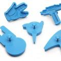 Moules cookies Star Trek