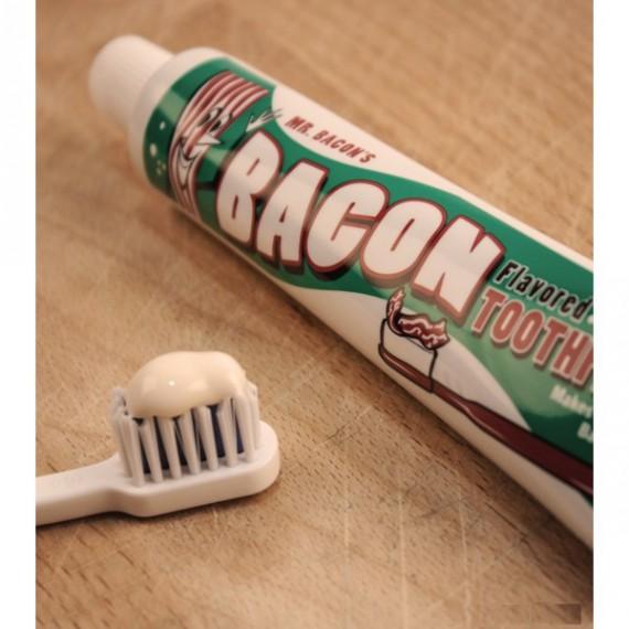 Dentifrice goût Bacon