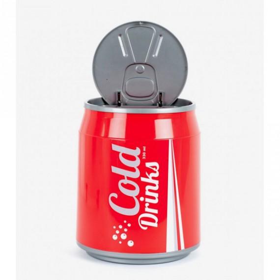La poubelle canette de soda (coca)