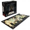 Le puzzle 3D carte de Game Of Thrones