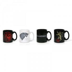 Set 4 mini mug Expresso Game of Thrones