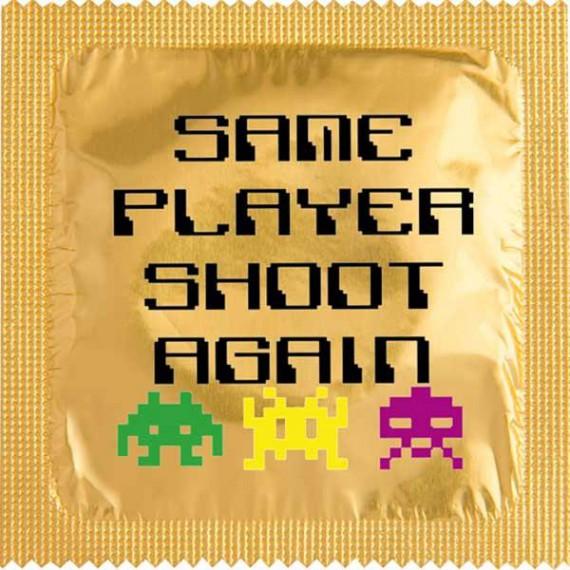 Les preservatifs de gamers