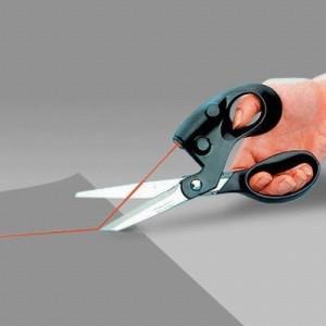 Ciseaux à visée laser