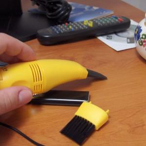 Le mini aspirateur USB de bureau