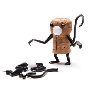 Accessoires pour bouchon en liège - Corkers Singe
