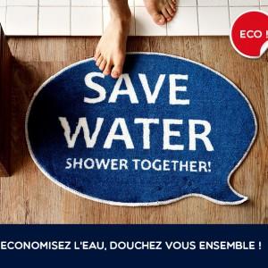Le tapis de douche shower together