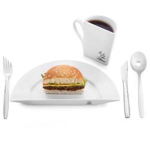 Assiette Demi-portion