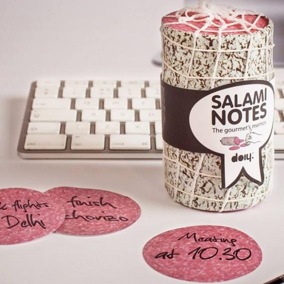 Bloc-notes salami - 1000 feuilles