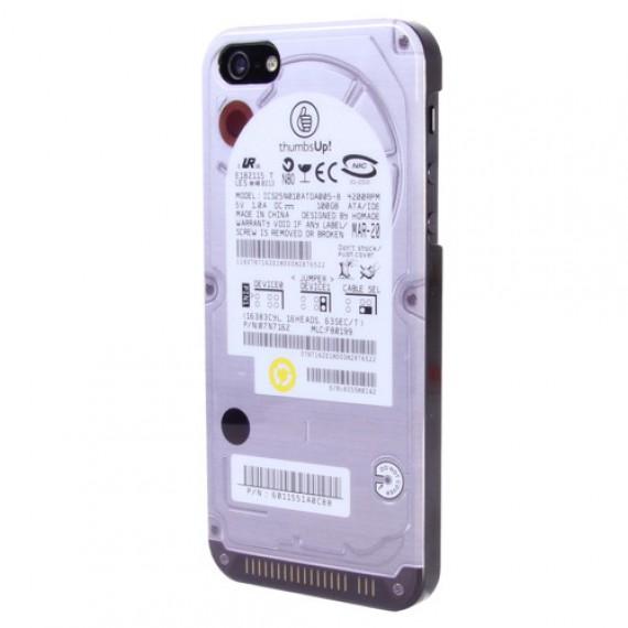 Coque iPhone 5/5s Disque Dur