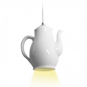 Lampe suspension Théière
