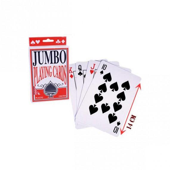 Jeu de cartes geantes
