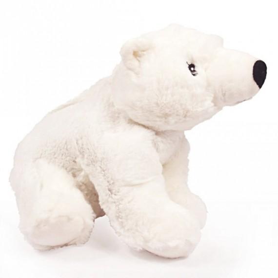 La bouillote peluche ours polaire Micro-Ondable