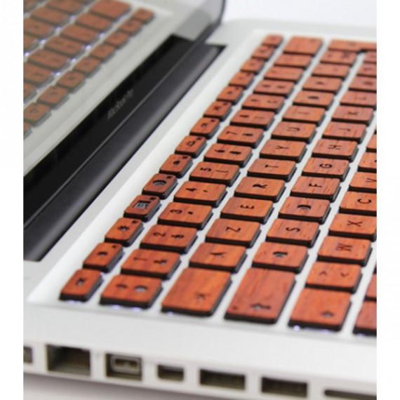 Clavier en bois pour Macbook