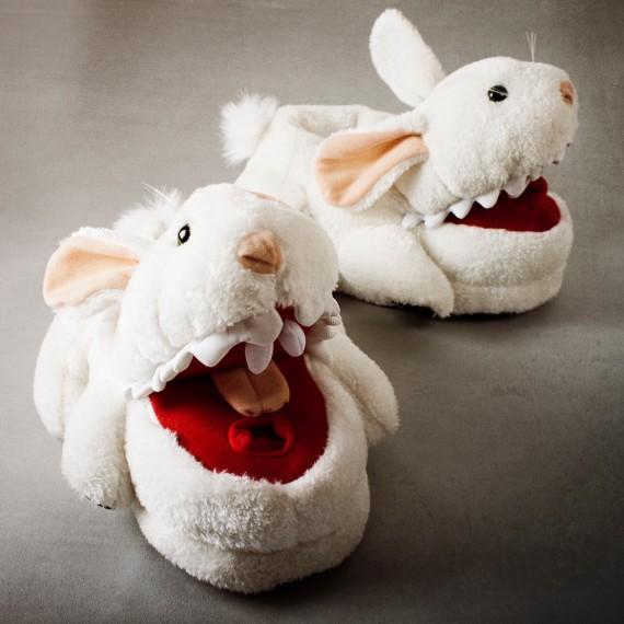 Chaussons lapins tueurs Monty Python