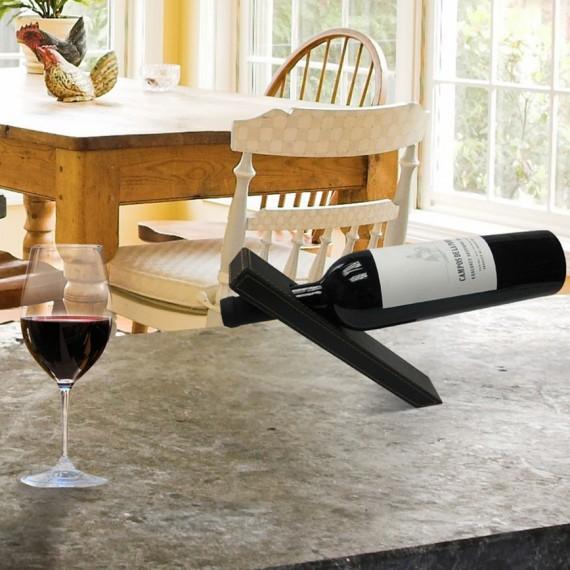 Support magique bouteille de vin