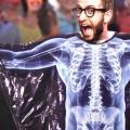Poncho squelette rayons X
