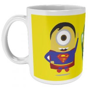Mug Minions Super Héros DC Comics