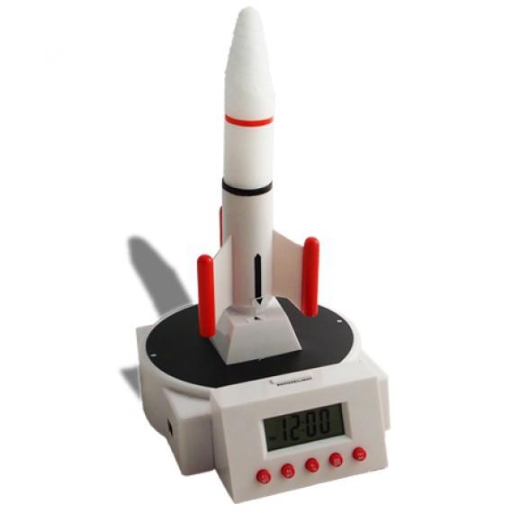 Réveil fusée volante originale