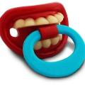 Tétine dents Billy Bob pour bébé
