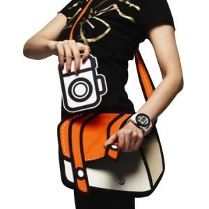 Le sac besace 2D style animé