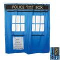 Rideau de douche TARDIS Doctor Who