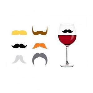 Marqueurs verre Moustache
