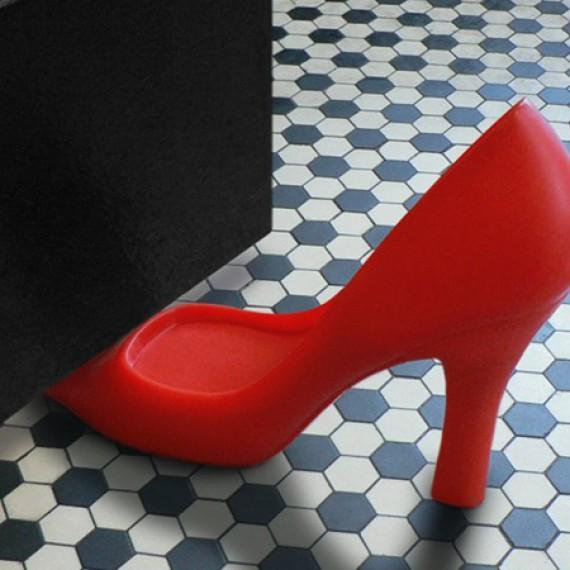 Stop-porte style chaussure à talon haut