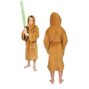 Le peignoir Jedi Padawan marron pour enfant