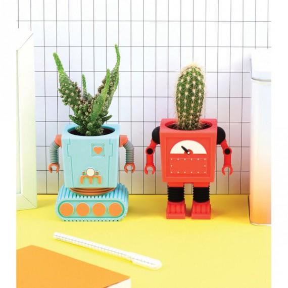 Pot de fleurs 'Planterbot'