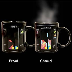 Le mug tetris thermo-actif