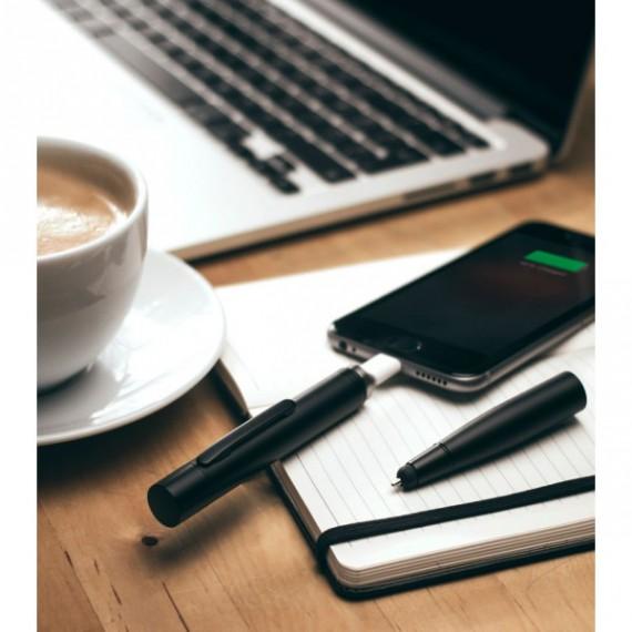 Stylo hybride pour écrire et charger les smartphones