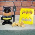 Coquetier et emporte pièces Batman