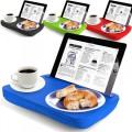 Plateau coussin pour tablettes et iPad